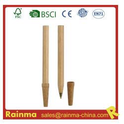 Caneta de esferas de bambu de madeira para Eco Papelaria 633