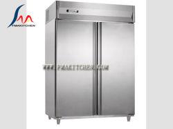 Двойные двери Gn холодильник, двойные двери Gn морозильником, блок управления сверху или снизу, 1245 L