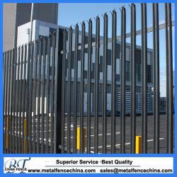 Palisade valla de acero galvanizado con alta calidad