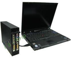 Expresscard alla carta di espansione del PCI delle 2 scanalature con la recinzione della lega di alluminio
