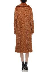 L'interdiction2006-0216-B Bouton vers le bas de la longueur genou Les Femmes de l'hiver épais manteau chaud