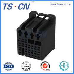 Hembra de Audio y vídeo mazo de cables del conector del cable automotriz macho