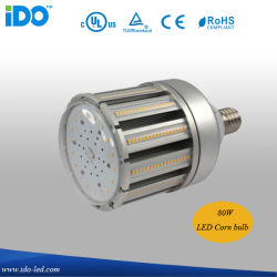 UL CUL TUV المدرجة IP65 ضمان لمدة 6 سنوات 80 واط شارع LED ضوء الذرة (IDO-803-80W)