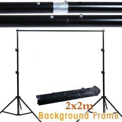 6.5FT*6.5FT Fotografía profesional fotografía telones de fondo del sistema de soporte de fondo es Studio + Bolsa de transporte