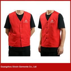 Vest van de Polyester van het ontwerp het Promotie Goedkope voor Mannen en Vrouwen (V32)