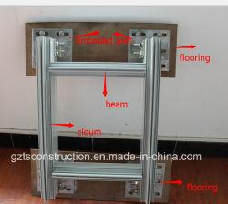 Parete divisoria di alluminio con vetro riflettente