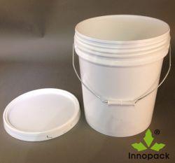 amerikanischer Lack-Plastikeimer der Art-20L mit Kappe und Griff