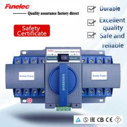 2P 1-63Potencia de salida de un doble interruptor de Transferencia automática