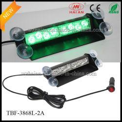 La couleur verte 2X4 LED feux de détresse de tableau de bord de l'intérieur