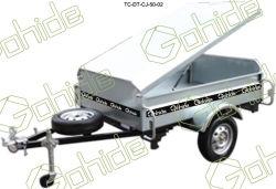 De Aanhangwagen van de doos met Dekking (tc-dt-cj-50-02)