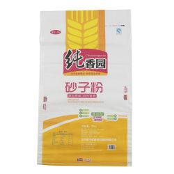 50kg de Geweven Zak van het polypropyleen pp voor Korrel van de Boon van de Verpakking de Zwarte