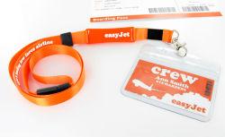 ID Card Holderを用いるNylon昇進のLanyard USB Sticks