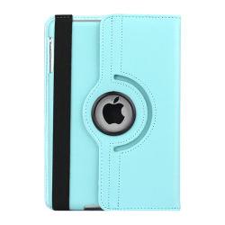Поворот на 360 градусов PU кожаный чехол для iPad 2, 3, 4, iPad воздух, iPad воздуха 2, iPad mini