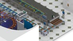 Bolo Cupcake Automática Industrial Panificação China Fabricante de Equipamento