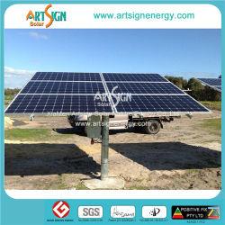 L'énergie solaire, énergie solaire pôle du système de montage au sol (comme-M15)