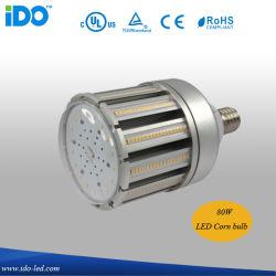 UL CUL TUV المدرجة IP65 ضمان لمدة 6 سنوات 80 واط شارع LED مصباح الذرة (IDO-803-80W)