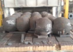 ASME A182 F22 CL3 Alloy Steel Hot Forged Steel 제품 공백