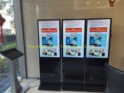 43 Polegadas Piscina Quiosque do visor LCD 4K 350unidades smart TV do Monitor