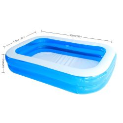 De nieuwe Aantrekkelijkste Spelen van het Water voor Zwembad Van uitstekende kwaliteit van pvc van Jonge geitjes het Goedkope blauwe Openlucht Binnen Grote Opblaasbare voor Verkoop