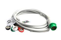 Cavo di Mindray Mec1000 5-Lead ECG con il Leadwire, 12pin