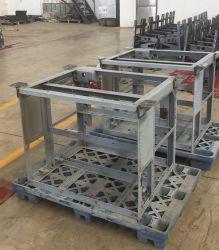 Soldadura de piezas personalizadas Servicio de soporte de acero doblado de lámina de metal con revestimiento en polvo de fabricación