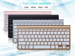 Mini4000 2,4G USB Ergonomic Multimedia Office kleiner tragbarer PC-Computer Mini-Set Combos Wireless Tastatur und Maus