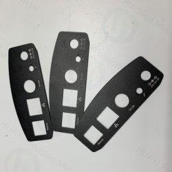 Il coperchio posteriore nero su ordine della lamiera sottile della pittura, ha annunciato le coperture componenti di alluminio delle coperture DVD del piatto, del calcolatore e del computer portatile e la scanalatura CD