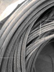 Fil de mise au rebut en aluminium/aluminium Ferraille 99,99 % aluminium extrudé 6063 rebut avec de la qualité de haute pureté