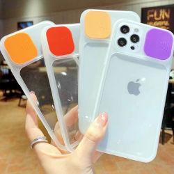 iPhone 13/Samsung/Xiaomi/OPPO/Motorola/Vivo Phone Case, OEM용 Semi, 9 Color Transparent 푸시 창 저렴한 맞춤형 가격, TPU 뒷면 커버, 도매 모바일 케이스, 셀