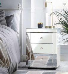 С одной спальней оформлены в современном стиле в ночное время зеркально прикроватном столике для дома украшения
