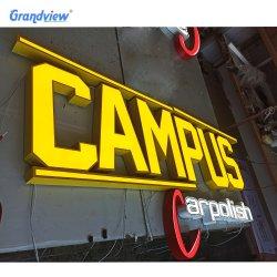 Письма 3D блок освещения LED акриловый канал письмо подписать светодиодный знак системной платы