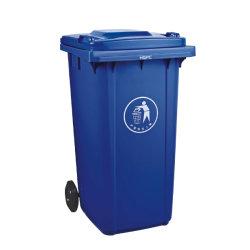 卸し売り屋外公共ごみのごみ貯蔵は緑の廃棄物の容器をできる パーク用プラスチックゴミ箱