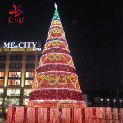2021 Acrílico artificial gigante árbol de Navidad Decoración