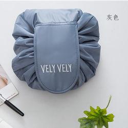 Hot vender viajes artefacto Perezosos Cordón cosméticos moda bolsa de almacenamiento de la bolsa de maquillaje