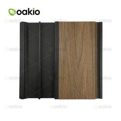 紫外線抵抗力がある屋外の木製のプラスチック合成の外面WPCの壁のクラッディング