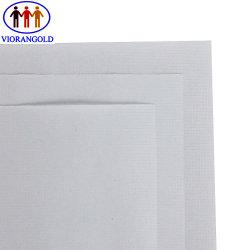 Het hoge Witte Document van de Versie van Kraftpapier van het Net, Totale Grammage 100g, 7# het Net van Quadrate, verdubbelt ZijPE Deklaag, de Enige ZijDeklaag van de Olie van het Silicium