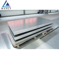 1050 2024 T3 3003 H14 5086 7075 Revêtement isolant Linished// fournisseur de feuilles en aluminium plat
