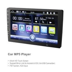 1DIN 범용 9인치 차량용 스테레오 MP5 MP3 플레이어 카 오디오 비디오 시스템 카 멀티미디어 DVD 플레이어