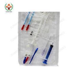 Пластиковый Sy-Hc медицинских Hemodialysis катетер комплект для продажи