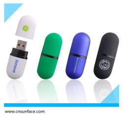 قرص فلاش USB بلاستيكي ملوّن Lipstick مع شعار مخصص