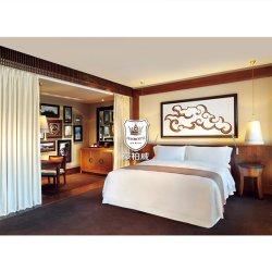 호텔 디럭스룸을 위한 골동품 목재 티크 목재 침실 가구