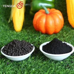 حمض هيميتش 50 ٪ 1415-93-6 مورد المواد العضوية الأسمدة الموردون مصنع مسحوق الجرانيت سعر حمض هيوم للنبات