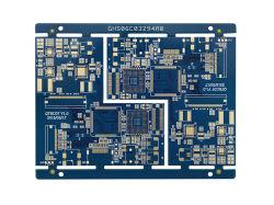 통신 이동 전화 6layer HDI Em825 침수 금 PCB