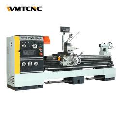 WMTCNC 고정밀 갭 베드, 금속 라어 머신 CS6266C 중부하 작업 절단