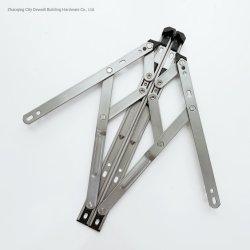 Las puertas y ventanas de aluminio Hardware Casement bisagras de la estancia de fricción de la ventana