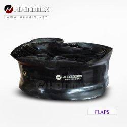 한믹스 한국 기술 OTR/농업용 내츄럴 부틸 타이어 플랩 / 지게차 / PCR 자동차 타이어 / 버스 타이어 플랩 모든 사이즈 플랩