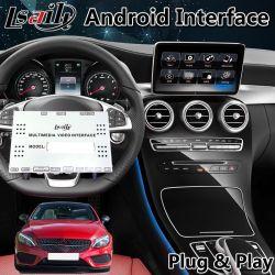 В Android Market Lsailt навигации GPS интерфейс для Mercedes Benz C Class W205 Ntg 5.0 Поддержка оригинального рукоятки управления