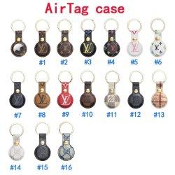 حقيبة Air Tag لمصمم فاخر للنساء المتتبع لهاتف Apple iPhone حقيبة السيارة سلسلة مفاتيح الحيوانات الأليفة لويس الضائع غطاء الهواء مصنع اكسسوارات الجملة