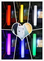 Rigeba nova chegada 6*15W 6 LEDs RGBW 4NO1 Colorido LED recarregável Bateria de substituição de mobiliário de anúncio inflável Light