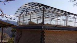 ポリカーボネート製シート透明温室高品質